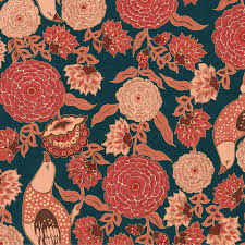 Red Damask Wallpaper Home Decor Sabyasachi For Asia Paints Wallpaper Wall Decor Story India
