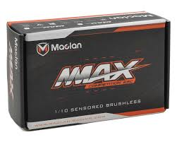maclan mmax pro 160a competition sensored brushless esc w program