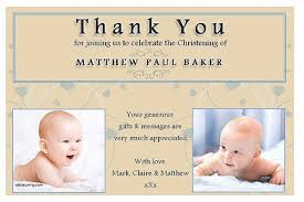 baptism thank you wording thank you cards unique thank you card for baptism wording