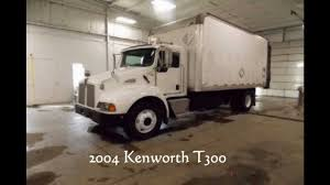 kenworth t300 for sale 2004 kenworth t300 box truck for sale in michigan youtube