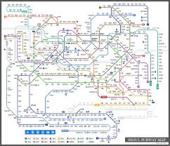 Bangkok Subway Map by Latest 2012 Seoul Subway Map South Korea Beck13 Com Blog