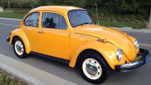 Vw Beetle Classic Interior Seller Of Classic Cars 1975 Volkswagen Beetle Classic Orange