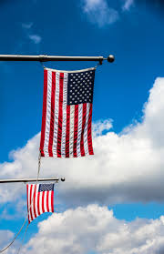 Red Flag Day Free Images Nature Wind Red Usa Blue Sky Clouds American