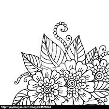 flower ornament vector yayimages