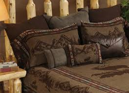 wooded river rocky mountain elk bedding collection luxury