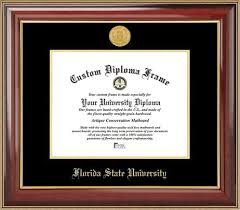 fsu diploma frame florida state diploma frame college logo spirit mat