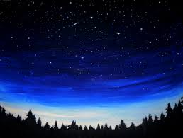 Blue Family In The Night Garden Best 25 Night Sky Painting Ideas On Pinterest Space Painting