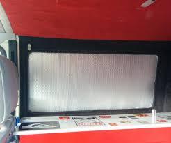 camper van thermal window blinds by cv1284 in travel travel