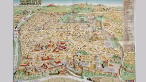 Jerusalem World Map by Israeli Tourist Map Of Jerusalem Rewrites History Removes