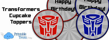 bumblebee transformer cake topper free printable transformers free printable transformers cupcake toppers party