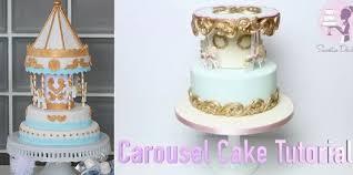 carousel cake topper carousel cakes tutorials cake magazine