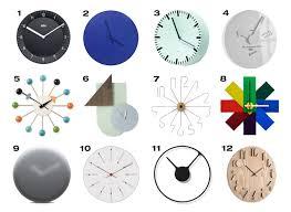 wall clock modern 12 modern wall clocks design milk
