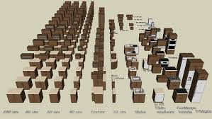 kitchen cabinet set 3d warehouse