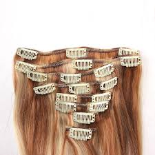 Cheap Thick Clip In Hair Extensions by Cheap Cheap 100 Human Hair Ombre Color Clip In Hair Extensions