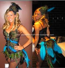 Halloween Peacock Costume Cute Peacock Costume Peacocks Costumes Homemade