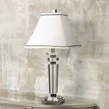 Full Spectrum Desk Lamp Bed Bath Beyond Vienna Full Spectrum Square Crystal Column Table Lamp Amazon Com
