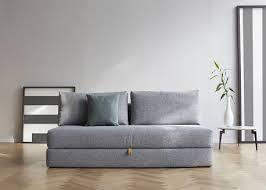 canape design danois canapé lit 2 personnes de qualité noir ou gris ksl living