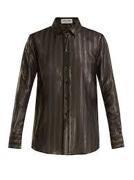 brown blouse s designer blouses shop luxury designers at