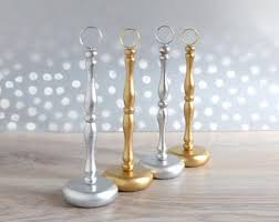 diy table number holders table number holder etsy