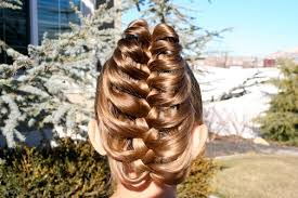 hair plait with chopstick cage braid ponytail 5 minute hairstyles cute girls hairstyles