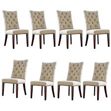 wingback dining room chairs furniture chic parsons chairs for dining room furniture ideas
