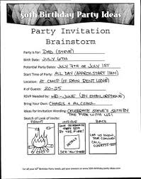 funny birthday party invitation wording cimvitation