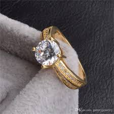 real wedding rings images 2018 yhamni fine jewelry real 24k yellow gold rings for women 1 jpg