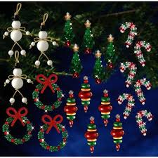 Easy Beaded Christmas Ornaments - stock up for next christmas beaded ornament and jewelry kits