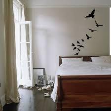 wall decals stickers home decor home furniture diy flock of flying birds wall art sticker animals decal vinyl mural wa314