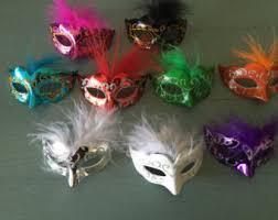 miniature mardi gras masks glitter mask etsy