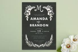 chalkboard wedding invitations chalkboard wedding invitations invitation crush