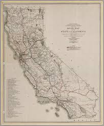 State Map Of California by Road Map Of The State Of California 1920 David Rumsey