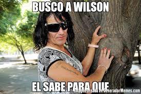 Wilson Meme - busco a wilson el sabe para que meme de aquiles imagenes memes