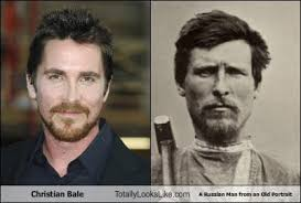 Christian Bale Meme - christian bale totally looks like a russian man from an old portrait