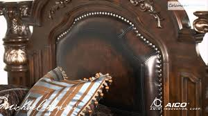 Michael Amini Oppulente Collection Monte Carlo Ii Cafe Noir Bedroom Collection From Aico Furniture