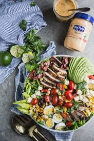 the modern vegetarian kitchen southwest style cobb salad with smoky chipotle u2026 the modern proper