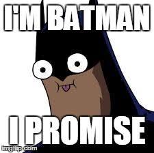 Im Batman Meme - batman derp imgflip