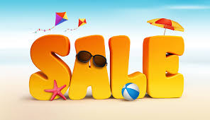 summer sale say hello to summer and save 20 on any stock theme