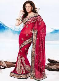 sari mariage 25 ide terbaik bridal sarees di sari manish