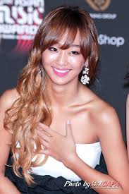 hyorin put on long hair sistar hyorin kpop the hair the color pinterest kpop