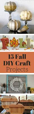 Fall Crafts and DIY Projects — Weekend Craft