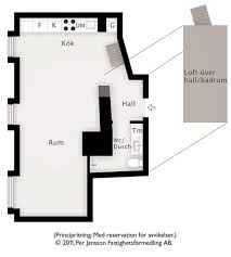square meters 57 square meter duplex with slanting white walls in stockholm