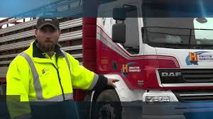 paccar trucks paccar portraits hingston transport daf lf55 youtube