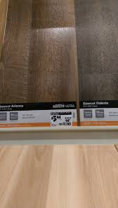 Laminate Or Real Wood Flooring Flooring Allure Vs Lowe U0027s Versions Vs Laminate