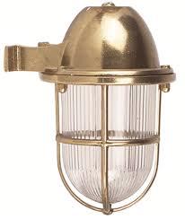 brass wall sconce lights indoor outdoor nautical lights ip 64