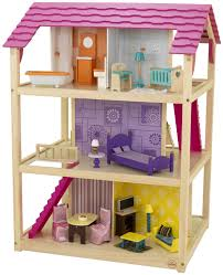 amazon com kidkraft so chic dollhouse with furniture toys