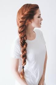 Frisuren Mittellange Haare Zopf by Die Besten 25 Rötliche Haare Ideen Auf Naturrot