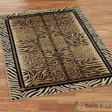 Zebra Runner Rug Decoration Cowhide Print Southwestern Area Rugs Antelope Runner