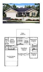 Coolhouseplan Com Ranch Style Cool House Plan Id Chp 45543 Total Living Area