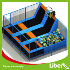 china kids indoor trampoline bed fashion trampoline park with